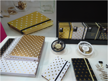 Dotted stationery notebooks from Paperworld